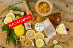Natural-cosmetics atelier complet